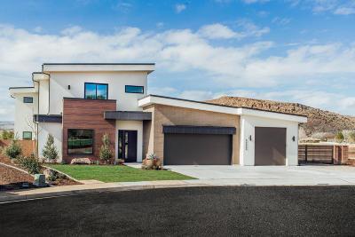 St George Single Family Home For Sale: 3222 S Jacob Hamblin Cir