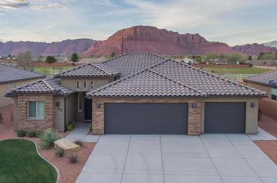 Ivins Single Family Home For Sale: 243 E Desert Rose Way