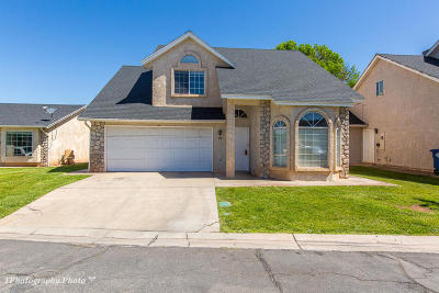 St George Single Family Home For Sale: 1040 N 1300 W #19