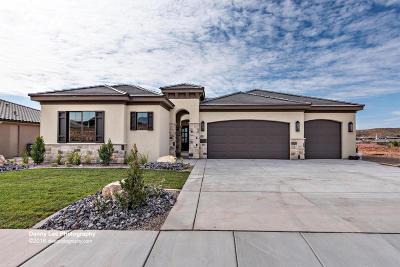 Washington Single Family Home For Sale: 821 Sunset Mesa Dr