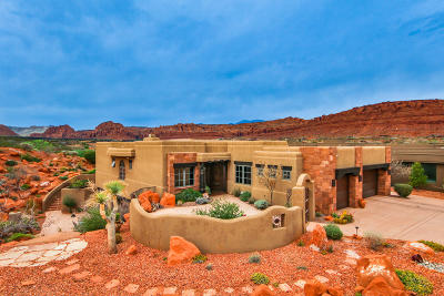 St George Single Family Home For Sale: 2549 W Sinagua Trail #47