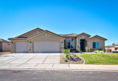 St George Single Family Home For Sale: 3108 E 2890 S