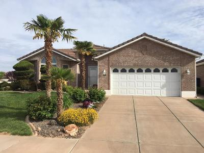 St George UT Single Family Home For Sale: $257,700