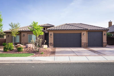 Dixie Springs Single Family Home For Sale: 4147 W 2700 S