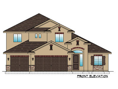 St George Single Family Home For Sale: Lot 83 3350 E St