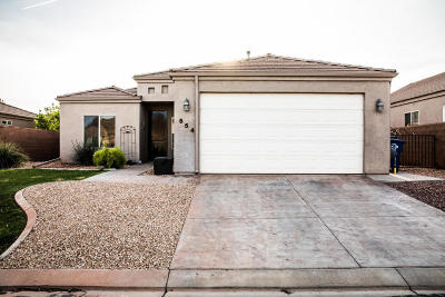 Ivins Single Family Home For Sale: 554 S 675 E