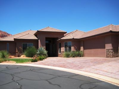 Ivins Single Family Home For Sale: 140 N Tuacahn #27