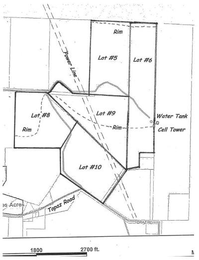 St George Residential Lots & Land For Sale: 23 Acres Topaz Rd In Diamond Valley