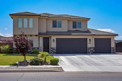 St George Single Family Home For Sale: 2820 E Crimson Ridge Dr