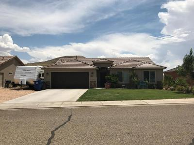 Hurricane Single Family Home For Sale: 2641 W 175 N