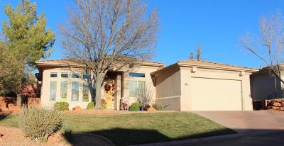 St George Single Family Home For Sale: 1642 N Raven Ln