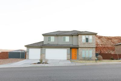 St George Single Family Home For Sale: 6077 Rimrunner