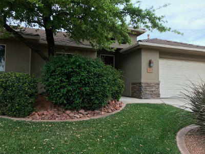 St George Single Family Home For Sale: 2152 W 1770 N