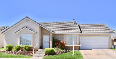 St George Single Family Home For Sale: 2051 W Canyon View #14