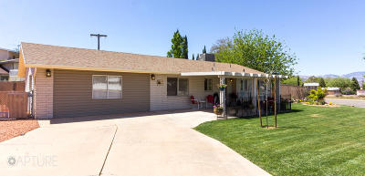St George Single Family Home For Sale: 749 N 1050 W