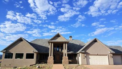 Toquerville Single Family Home For Sale: 1501 Cholla Drive