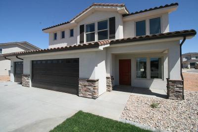 St George Single Family Home For Sale: 3741 E Archturus Dr