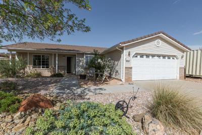 Washington Single Family Home For Sale: 505 N 800 E