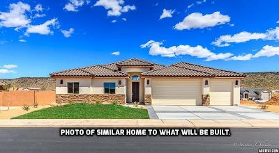 Hurricane Single Family Home For Sale: 2773 S 3440 W #Lot 228