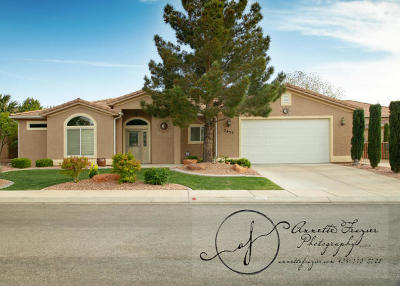 Hurricane Single Family Home For Sale: 2655 W 570 N
