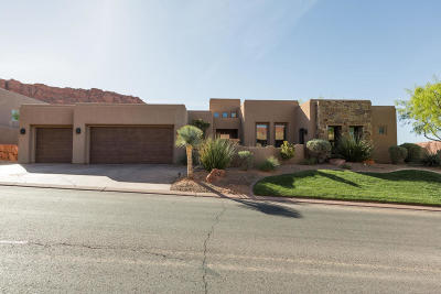 St George UT Single Family Home For Sale: $825,000