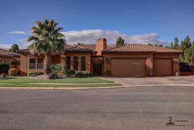St George UT Single Family Home For Sale: $440,000