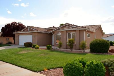Ivins Single Family Home For Sale: 438 S Puerto Dr