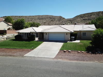 St George Single Family Home For Sale: 540 Pintura Dr