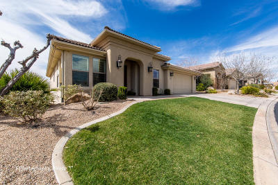 St George UT Single Family Home For Sale: $447,000