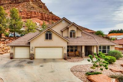 St George UT Single Family Home For Sale: $335,000