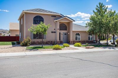 Hurricane Single Family Home For Sale: 1082 N 100 W