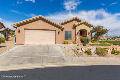 St George UT Single Family Home For Sale: $345,000