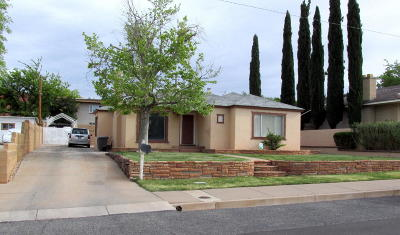 St George UT Single Family Home For Sale: $249,000