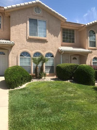 St George UT Condo/Townhouse For Sale: $162,000