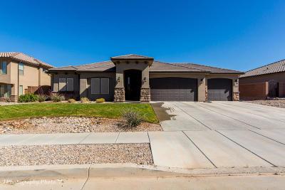St George Single Family Home For Sale: 2761 E Crimson Ridge Dr