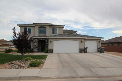 St George Single Family Home For Sale: 2966 E 3110 S