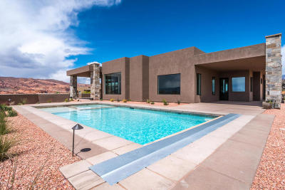 St George Single Family Home For Sale: 4584 N Painted Sky