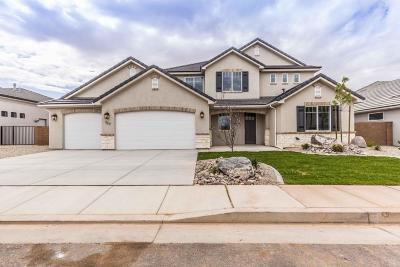 Washington Single Family Home For Sale: 352 E 3975 S