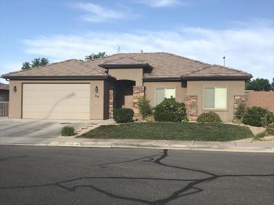 St George Single Family Home For Sale: 59 N 2890 E