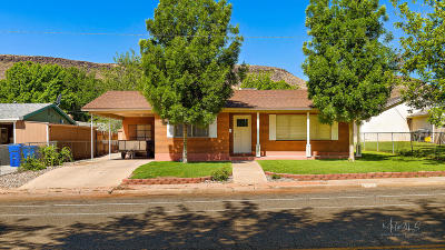 St George Single Family Home For Sale: 219 N 300 W