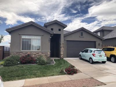 Hurricane Single Family Home For Sale: 347 N 815 W