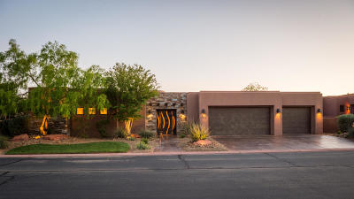 St George Single Family Home For Sale: 3052 N Snow Canyon Parkway #163