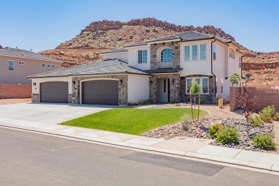 St George UT Single Family Home For Sale: $498,900