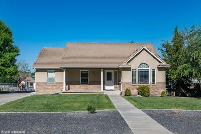 St George Single Family Home For Sale: 8315 N Diamond Valley Dr
