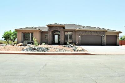 Ivins Single Family Home For Sale: 332 E 250 N