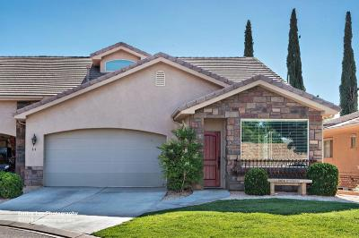 Ivins Single Family Home For Sale: 64 W 100 S