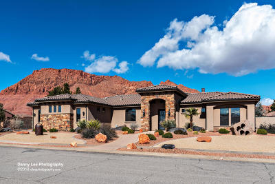 Ivins Single Family Home For Sale: 893 E Sand Hollow