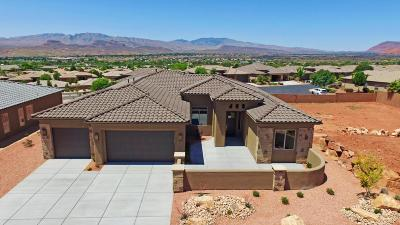 St George UT Single Family Home For Sale: $464,900