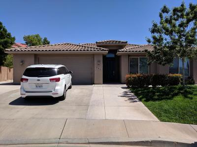 St George Single Family Home For Sale: 209 S 2020 E Cir