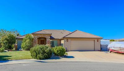 Hurricane Single Family Home For Sale: 347 N 3260 W